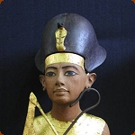 Blue Crown of Ancient Egypt