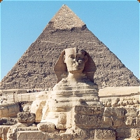 The Pyramids and Sphinx at Giza