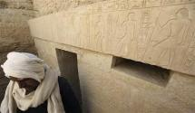 4,300 year old pharaonic tombs unveiled near Cairo