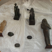 Stolen Egyptian Artifacts Found at Auction House