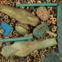 Synchrotron Probes Egyptian Beads