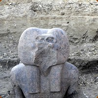 Baboon God Statue Found in Ancient Egyptian Ruins