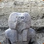 View Baboon God Statue Found in Ancient Egyptian Ruins